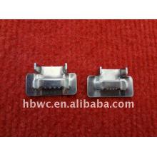 fácil instalación de ensambles de cables, grilletes de acero inoxidable