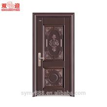 porta de aço do quarto do projeto da porta dos homens de aço francesa