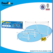 Funny 2 in 1 football goal set toy