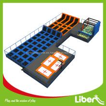 gimnasia interior grande profesional cama de trampolín