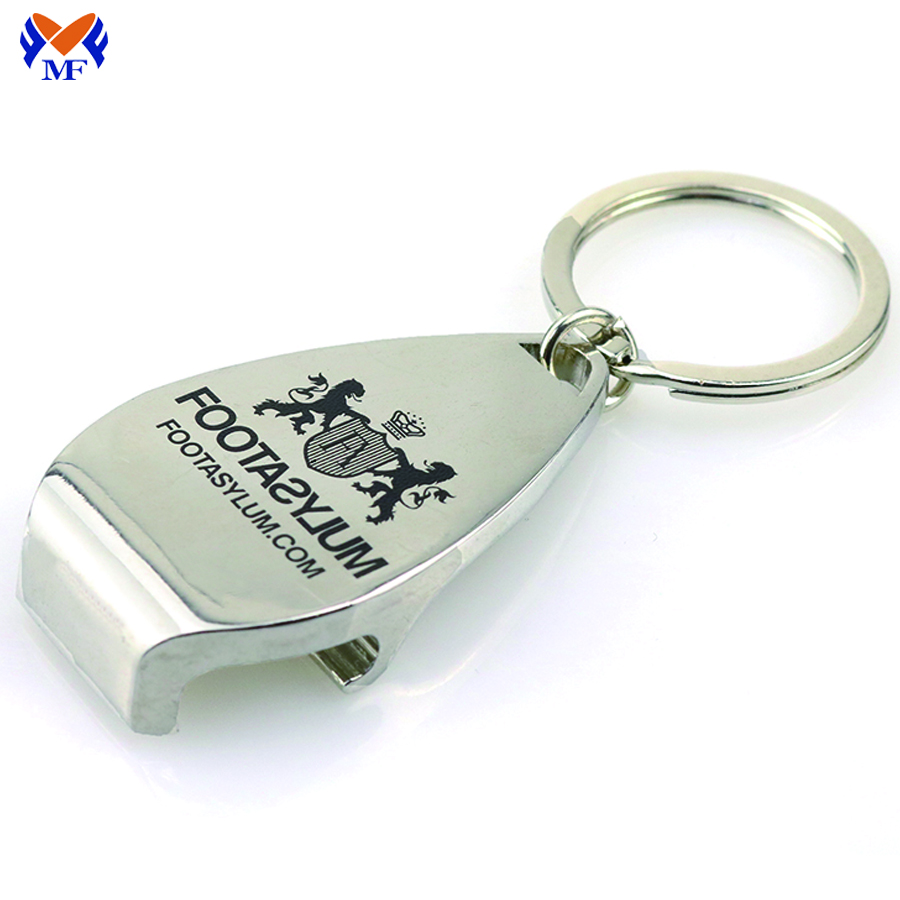 Bottle Opener Keychain Custom Logo