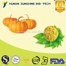 De la fabricación certificada de GMP ISO HACCP Sin azúcar añadido y polvo de calabaza natural puro
