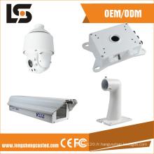 Boîtier de caméra CCTV Hikvision et support pour caméra CCTV