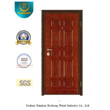 Porta de segurança em aço estilo tradicional para Oriente Médio (y-1002)