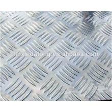 Placa de rodadura de aluminio antideslizante para la venta