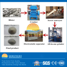 Waste Medical Blister Film Recycling Machine