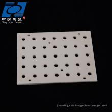 Verschleißbeständige keramische Brennplatte