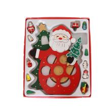 Марка КТ стране открытый праздник елки элегантный крытый дом рождественские украшения