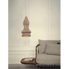Interior Simple Style Wooden Pendant Lamp