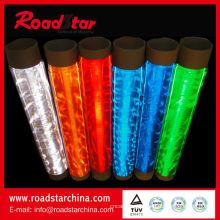 Rolo de PVC flexível prismático para segurança