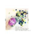 El género revela el confeti de fiesta de empuje pop, globo lleno de confeti de cumpleaños personalizado