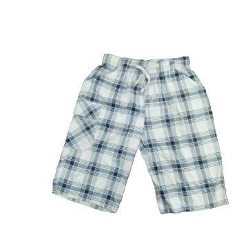 Short de coton en coton avec chèque imprimé (SP003)
