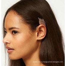 Новые висячие индивидуальные перья уха манжеты Ангел крылья уха клипы EC101