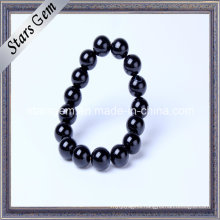 Natural Black Agate Bracelet for Jewelry