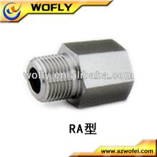 Acoplamientos de tubo del adaptador del reductor masculino y femenino de la unión de la alta calidad