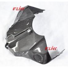 Cubierta del tanque de las piezas de la fibra del carbón de la motocicleta para YAMAHA R1 2015