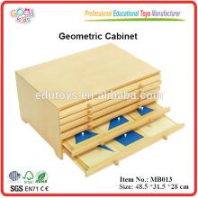 Montessori Geometrisches Kabinett