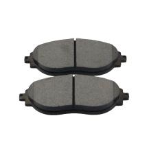 D1633 customizable good automotive brake pads kit automobile semi-metal brake pad for AUDI S3