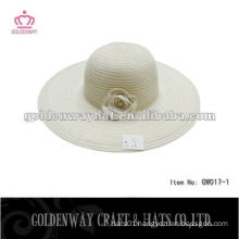 fashion lady's crochet beret hat women's straw beach hat