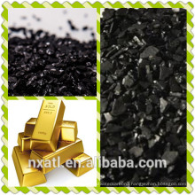 coconut activated charcoal used for gold extract