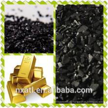кокосовый активированный уголь, используемый для золота и т. д