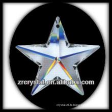 Pendentif en forme de étoile en cristal K9