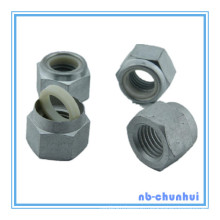 Hex Nut Nylon Insert Nut-DIN985