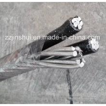 Алюминиевый подвесной кабель ACSR Triplex 2AWG Conch