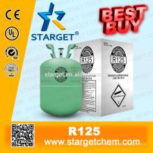 Agent de refroidissement HFC125 R125 propre