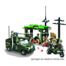 Attack Series Designer Blockhouse Detection of Military 285PCS Blocks Toys