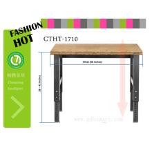 exportation meubles coréens maual table élévatrice par des vis régleurs de hauteur de table