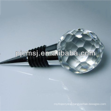 Clear Crystal Glass Wine Stopper For Party Favors