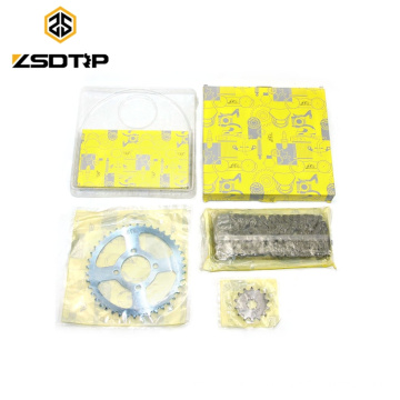 SCL-2015070245 AX100 Chain Sprocket 428H-42T-14T-120L of Universal Motorcycle Chain Sprocket Kit