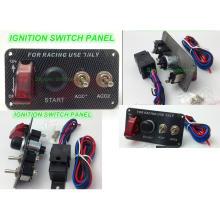 El panel del interruptor de la luz 12V LED del coche de competición / el panel del interruptor de palanca del botón