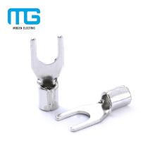 Conectores não-isolados de cobre de terminais da extremidade da pá de Whosale para elétrico