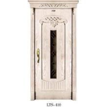 Porte intérieure en bois (LTS-410)