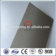 6mm Bronze gefrostete Polycarbonatfolie