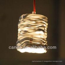 Lampes de plafond à la main créatives de décoration à la maison