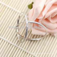 Sterling sliver earrings woman 925 design big hoop earring