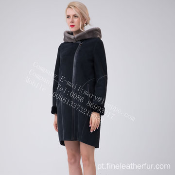 Espanha Merino Shearling Jacket For Women