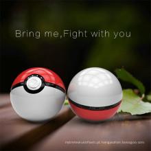 Ept Novo Produto Pokeball Toy Poder Engraçado Banco 12000 mAh Pokemon Go Bola Mágica LEVOU luz