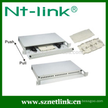 1U 19inch 100 pairs 110 wiring patch panel