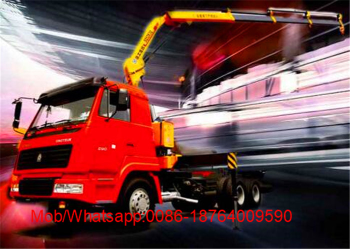 10T Lifting Telescopic Boom Crane