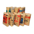 foil lined side gusset kraft paper coffee bags with valve