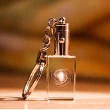 Corrente chave de cristal feito a mão barata por atacado (KS11101)
