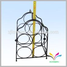 Smartable schwarz aus Porzellan Zähler Metalldraht Champagner-Rack
