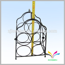 Smartable negro hecho en China counter metal wire champagne rack