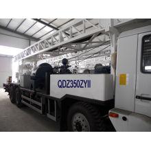 Caminhão de perfuração de poço de água