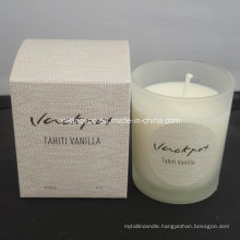 Wet Garden Scented Organic Soy Wax Candle with High End Cardboard Box