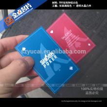 Papel de laminación de película impresora de impresión de diseño de tarjetas de visita de lujo